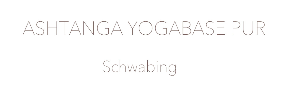 Ashtanga Yogabase Pur München Schwabing Yogastudio