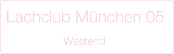Schriftzug: Lachclub München 05