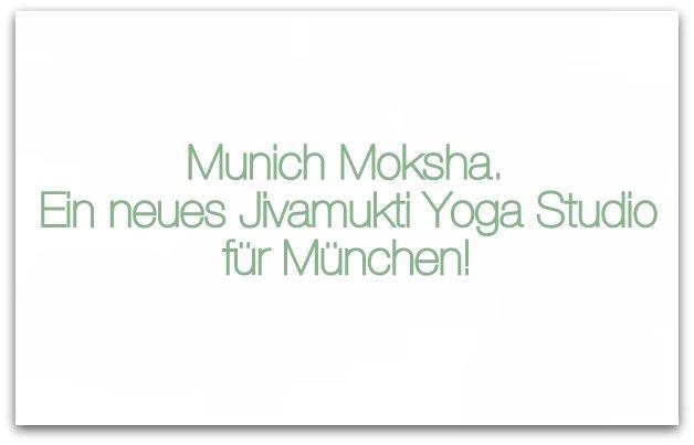 Jivamukti Yoga Studio München
