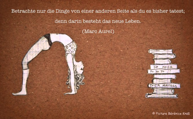 Yoga Zitat Marc Aurel Www My Yoga Guide De