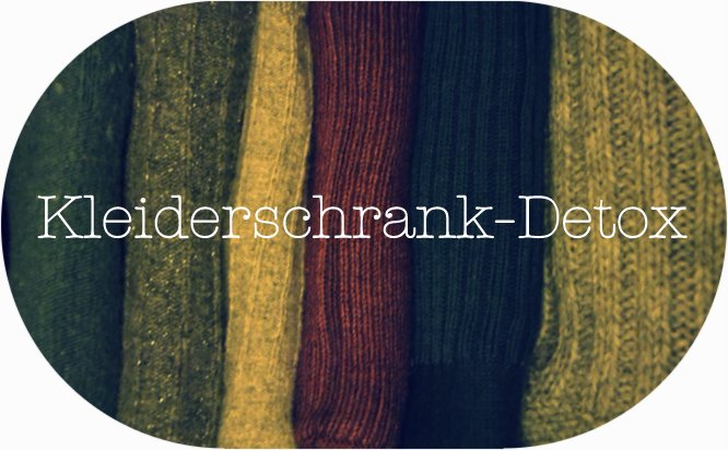 Kleiderschrank-Detox, Kopf befreien