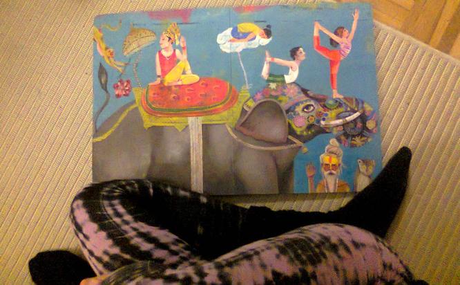 Yoga Buch Kinder Little Gurus, Wimmelbuch zum Nachturnen