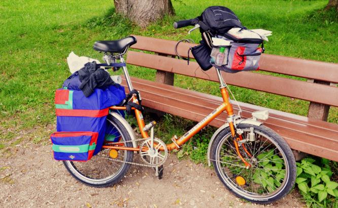 Klapprad & Yogamatte, Radtour, Bayern, München, Dachau