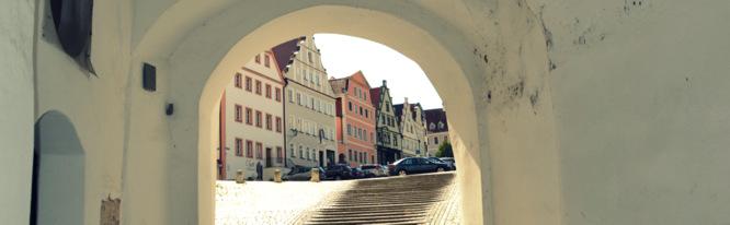 Klapprad & Yogamatte, Radtour, Bayern, Neuburg an der Donau, Schloss