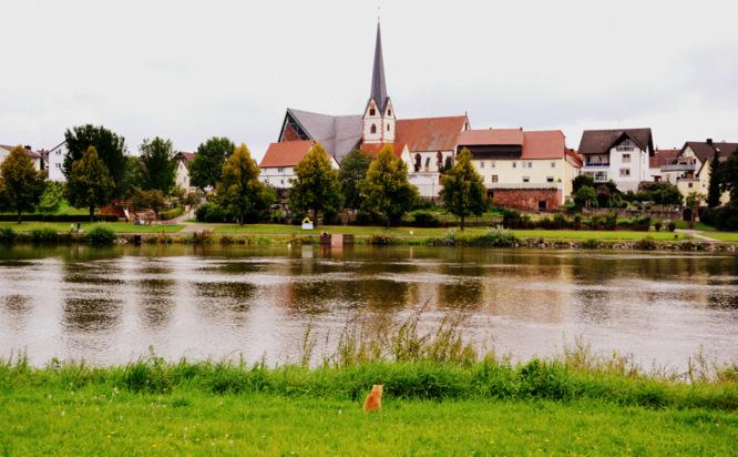 Klapprad & Yogamatte, Radtour, Bayern, Hessen, Main