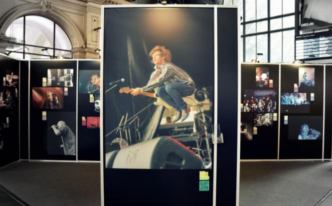 Klapprad & Yogamatte, Radtour, Hessen, Main, Frankfurt, Hauptbahnhof, Fotografie, Ausstellung, Rock