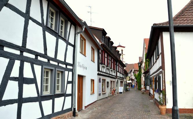 Klapprad & Yogamatte, Radtour, Hessen, Main, Seligenstadt, Flohmarkt