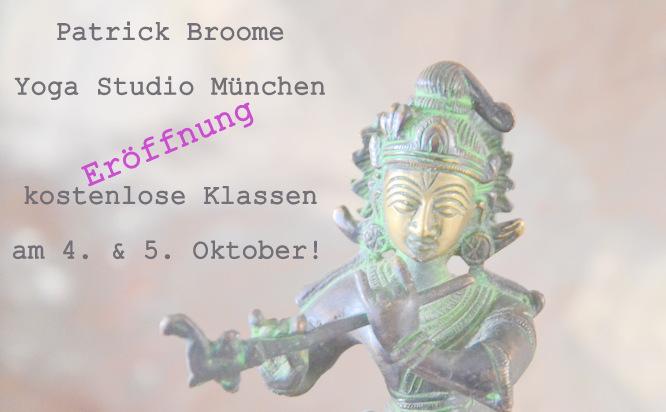 Patrick Broome, Studio, München, Eröffnung