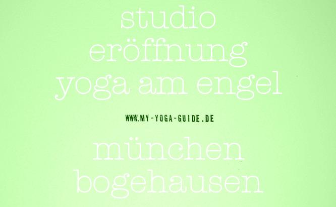 Yoga am Engel, Studioeröffnung