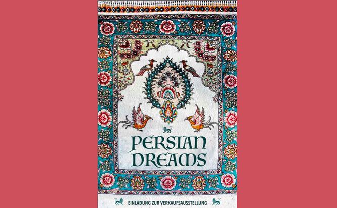 Persian Dreams Ausstellung München, Teppichflug - Meditation