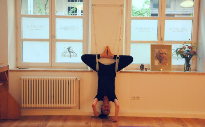 Iyengar Yoga, München, Yogashala, Elisa
