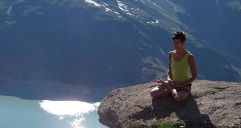 Sabine Vieider-Yoga-Berge, Yoga, Yoga Pose