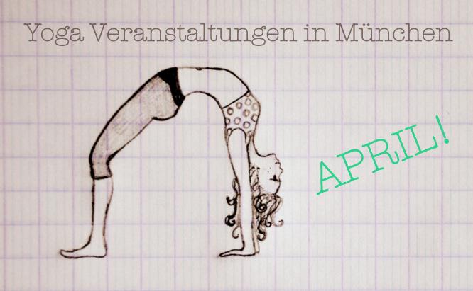 Yoga Veranstaltungen April Meditation