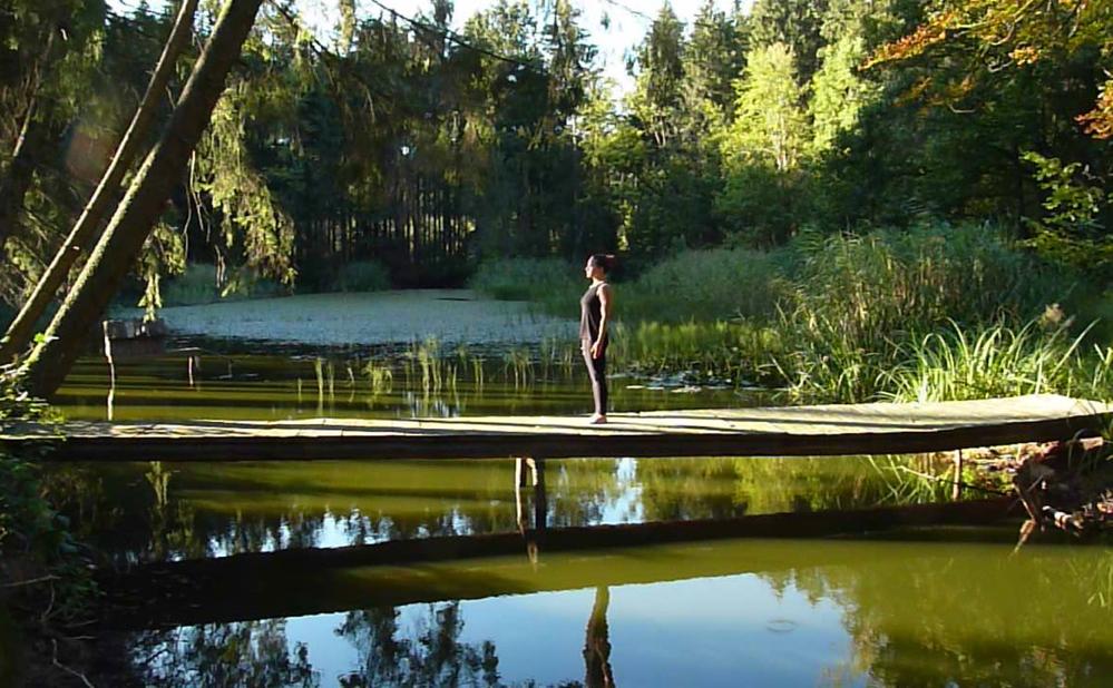 Yoga, Pose, Übung, Tadasana, Samira, München