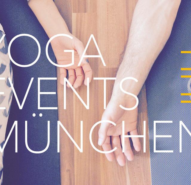Yoga Events München Kalender Juli Workshops