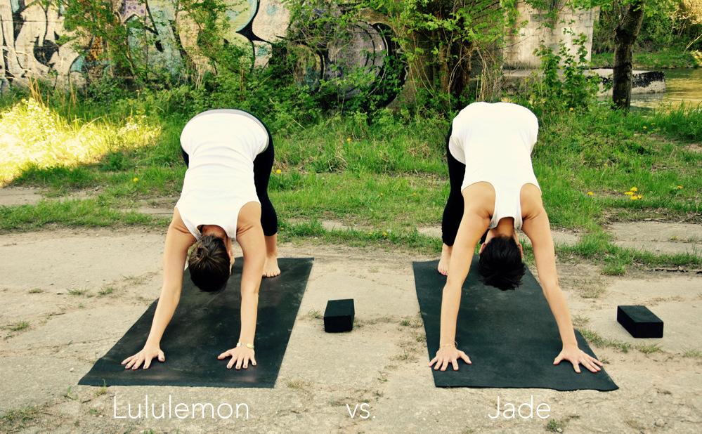 Jade Yogamatte, Rutschfestigkeit, rutschfest, organic