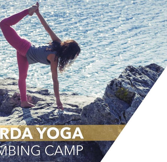 Retreat, Yoga, Klettern, Italien, Gardasee