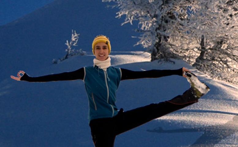 Yoga, Wandern, Retreat, Schneeschuhwandern, Tirol, Berge