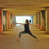 Yoga, Übung, Virabhadrasana 2, Krieger 2