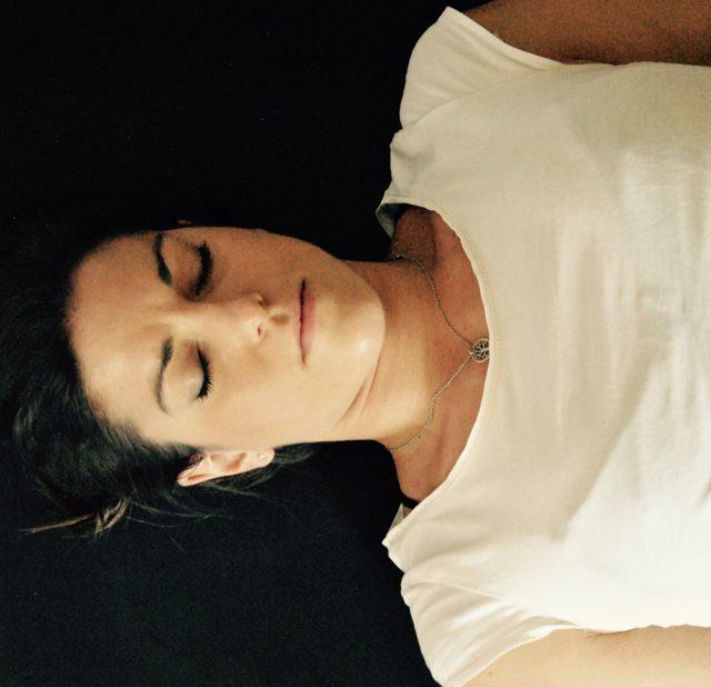 Yoga Übung, Müdigkeit, Erschöpfung, Savasana