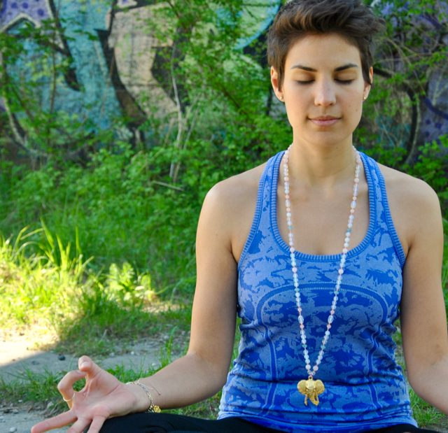 Yoga, Workshop, Mala, Meditation, Interview, Link&Bikini, Kette
