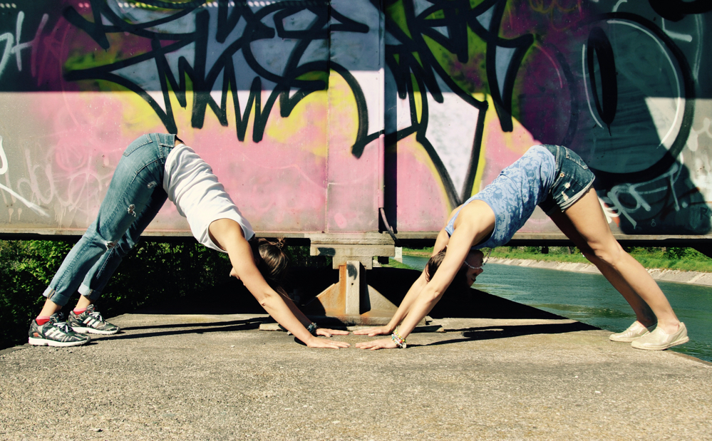 kostenlose Yoga Klasse, München