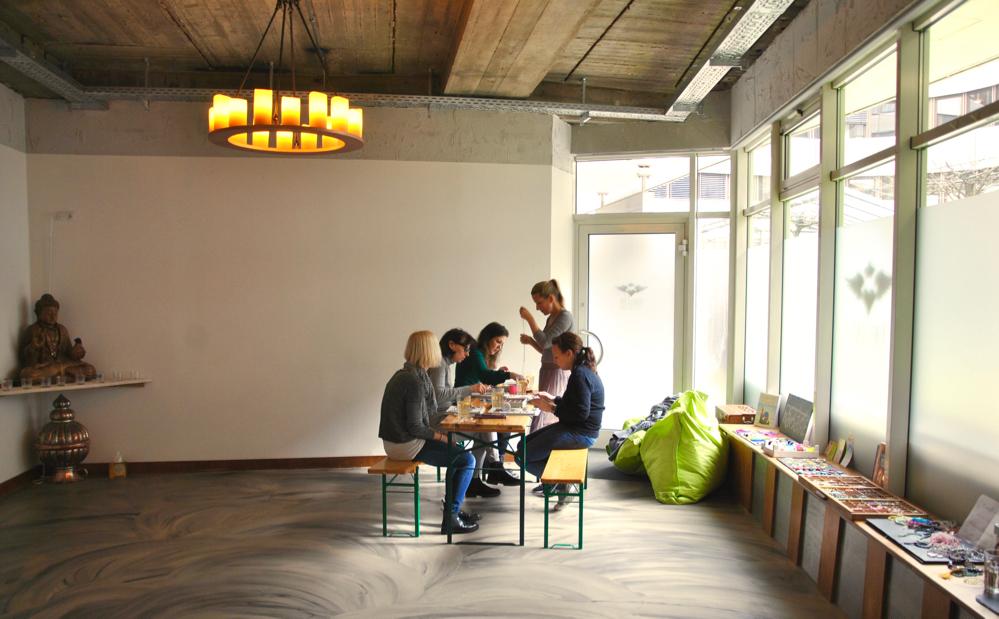 Rebella Bex Café, Yogastudio, Workshops, vegan, München